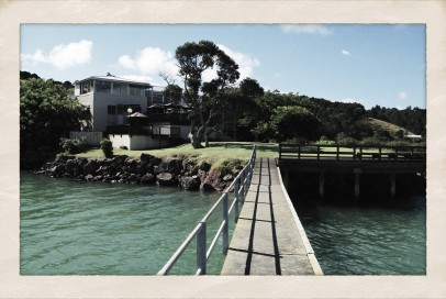 Here is the view from our private jetty
